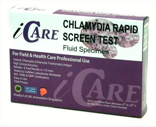 Fast, Accurate Result on Chlamydia Home Test Kit