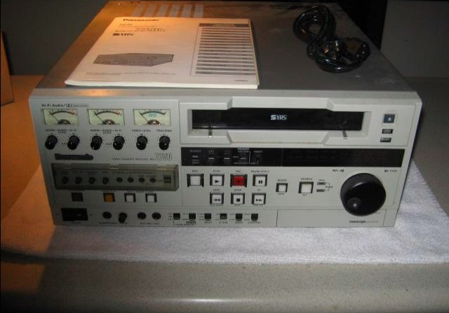 Like New * Panasonic Professional/Industrial Video Recorder/Playback Unit