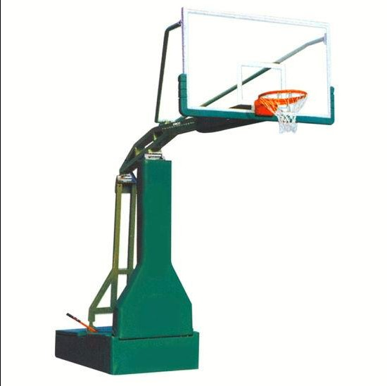 Indoor basketball stand